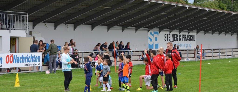 Nachwuchs Trainingslager der SV Urfahr mit Saisoneröffnung