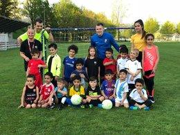 Fußballschule zu Gast in Urfahr