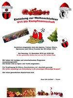 Weihnachtsfeier der SV Urfahr 1912